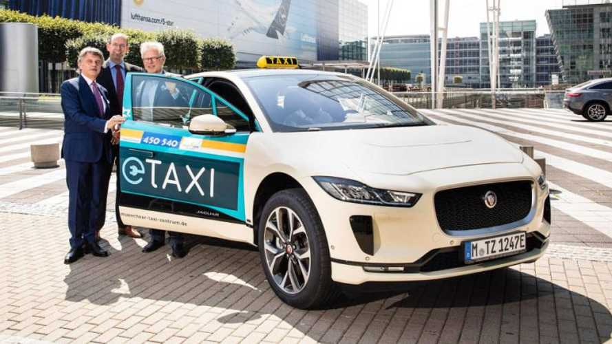 Jaguar I-Pace Targets Mercedes Taxis In Germany