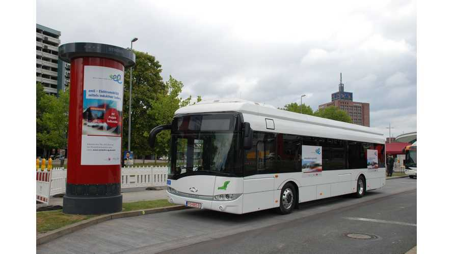 Brunswick Gets First Of Five Electric Buses With Wireless Charging