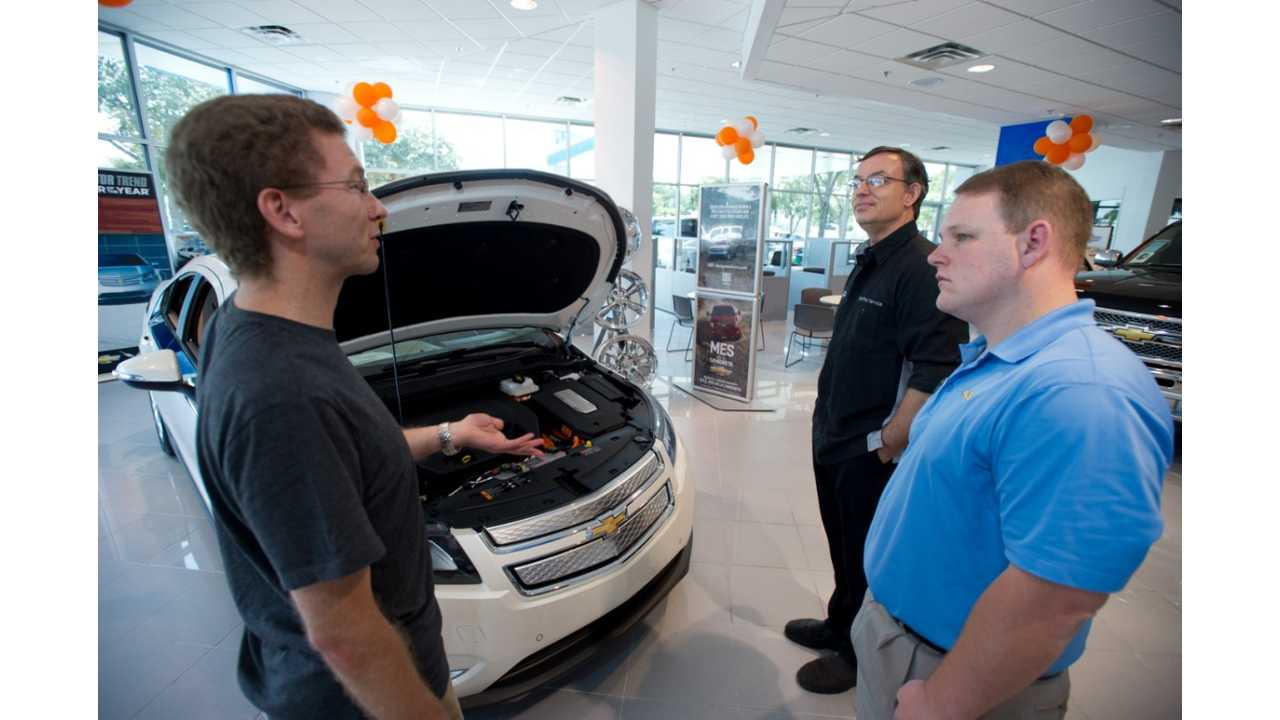 Chevy Volt Trying To Be Sold