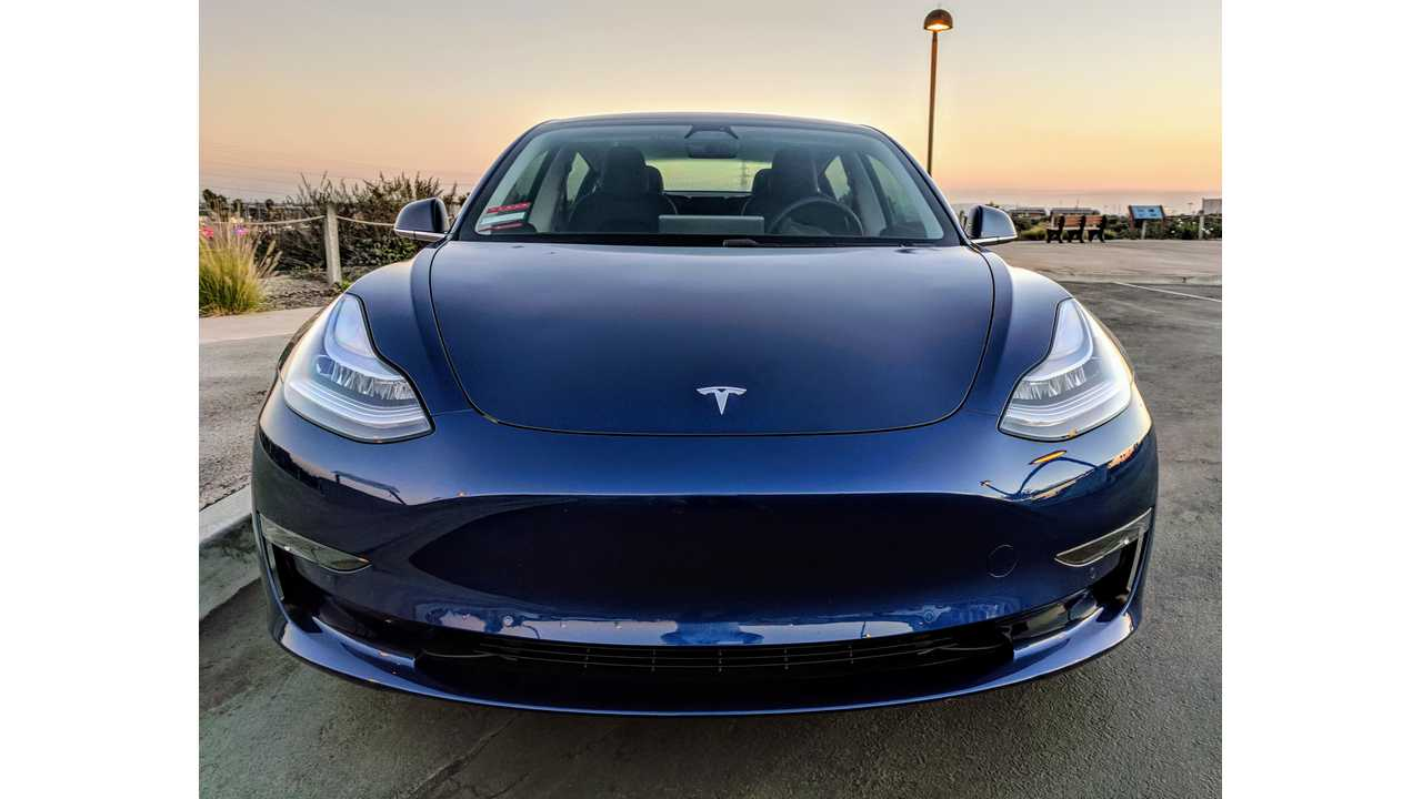 Tesla Model 3 front