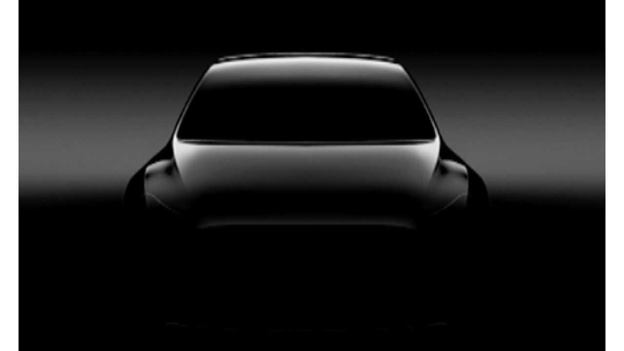 Official Tesla Model Y Teaser