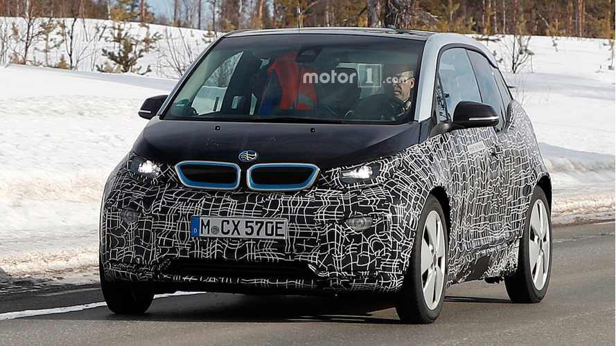 More Facelifted BMW i3 Spy Photos Surface