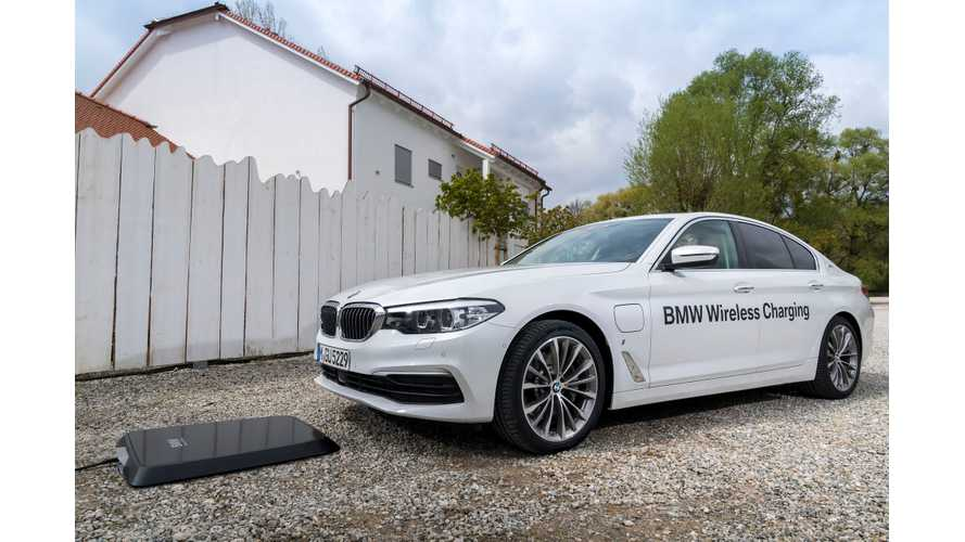 BMW Announces Wireless Charging Option On The 530e