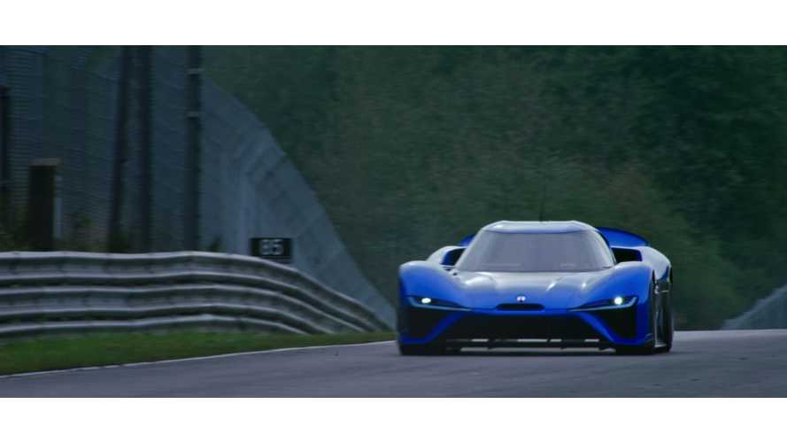 Watch NIO EP9 Set Nurburgring Track Record For EVs - Onboard Video