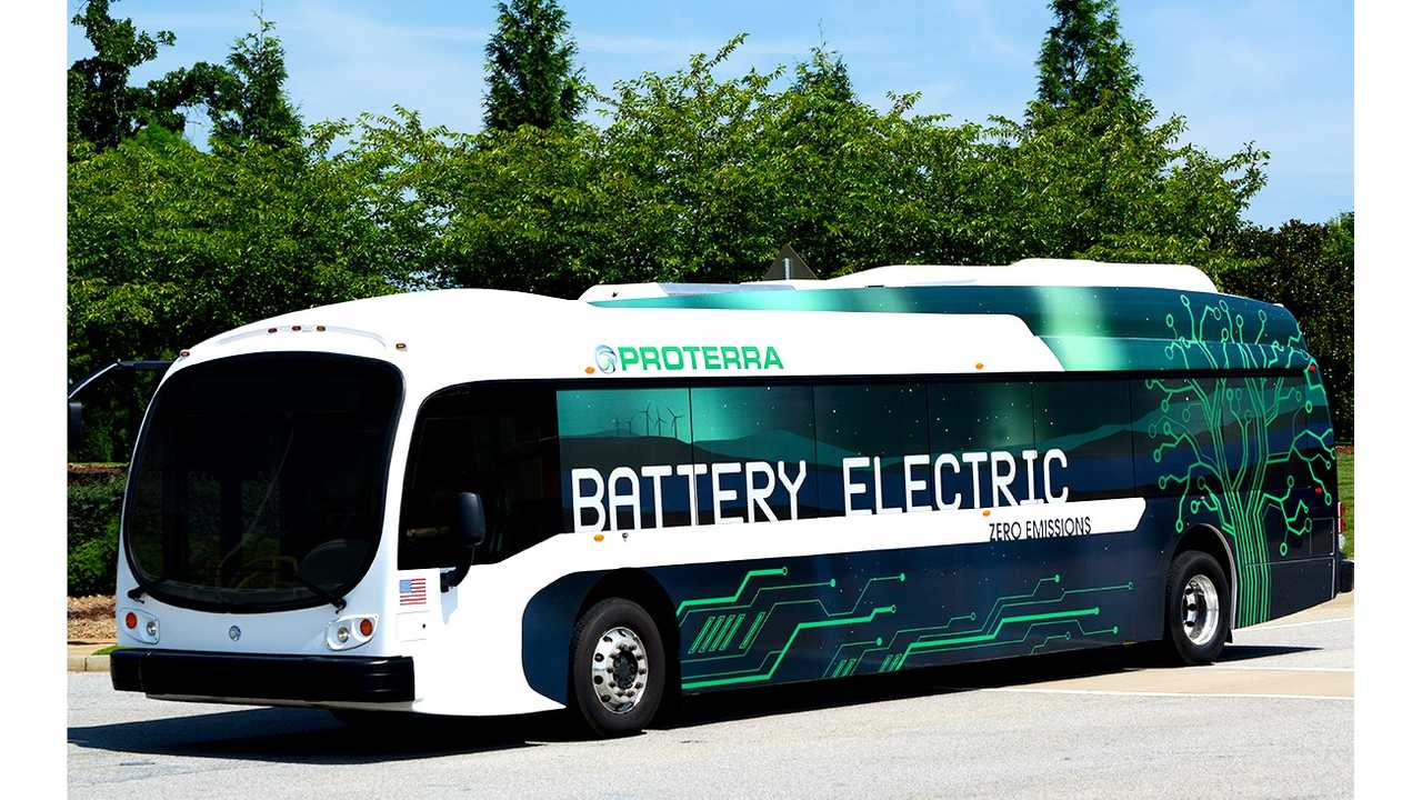 Proterra Catalyst XR Bus Gets New 330 kWh Battery Pack
