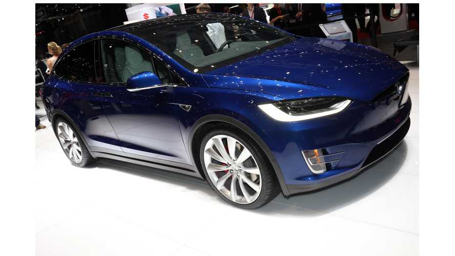 Tesla Model X P90D Test Drive Review