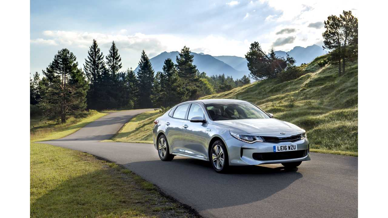 Kia Optima Plug-In Hybrid (wallpaper 2,560 x 1,700+)