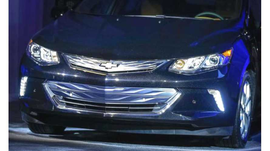 Revealed: The 2016 Chevrolet Volt (Images/Video)