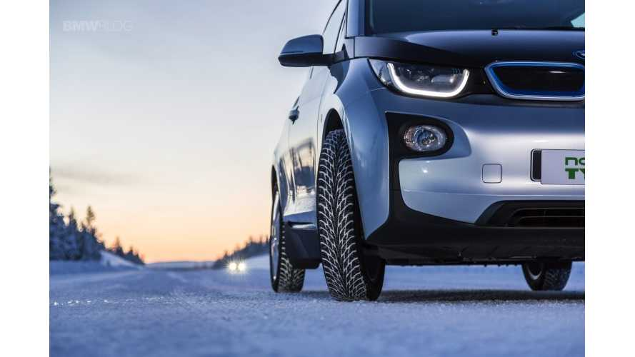 World's Most Energy Efficient Winter Tire, Nokian Hakkapeliitta R2, Now Available For BMW i3