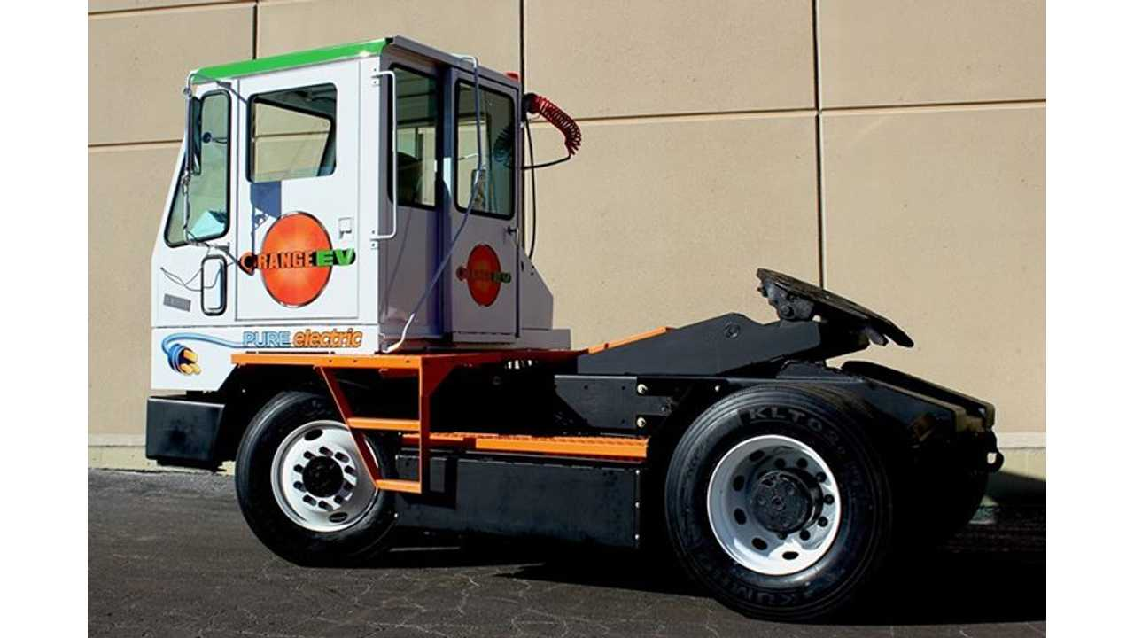 Meet The Orange EV Electric Terminal Truck