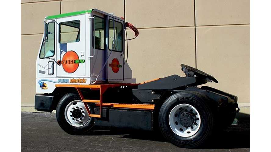 Meet The Orange EV Electric Terminal Truck