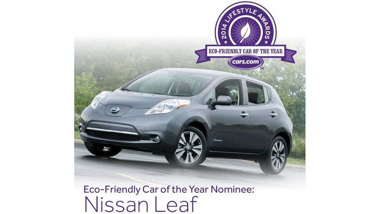 The best looking Nissan LEAF color