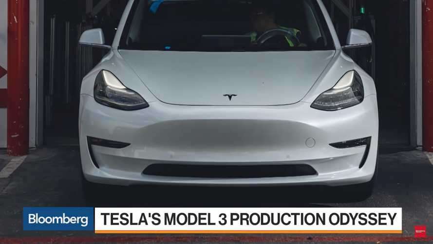 Bloomberg Gives Us The Scoop On Tesla Model 3 Production