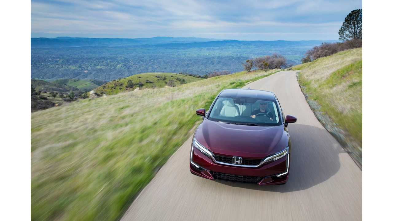 2018 Honda Clarity Fuel Cell Arrives At Select U S  Dealerships