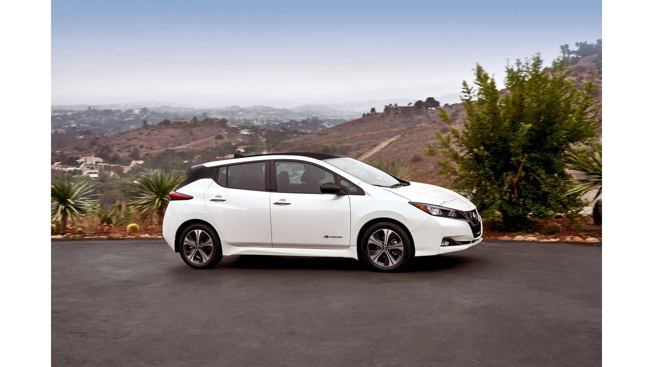 Reserve A 2018 Nissan LEAF Today To Get Free GoPro HERO5 Black, Apple Watch