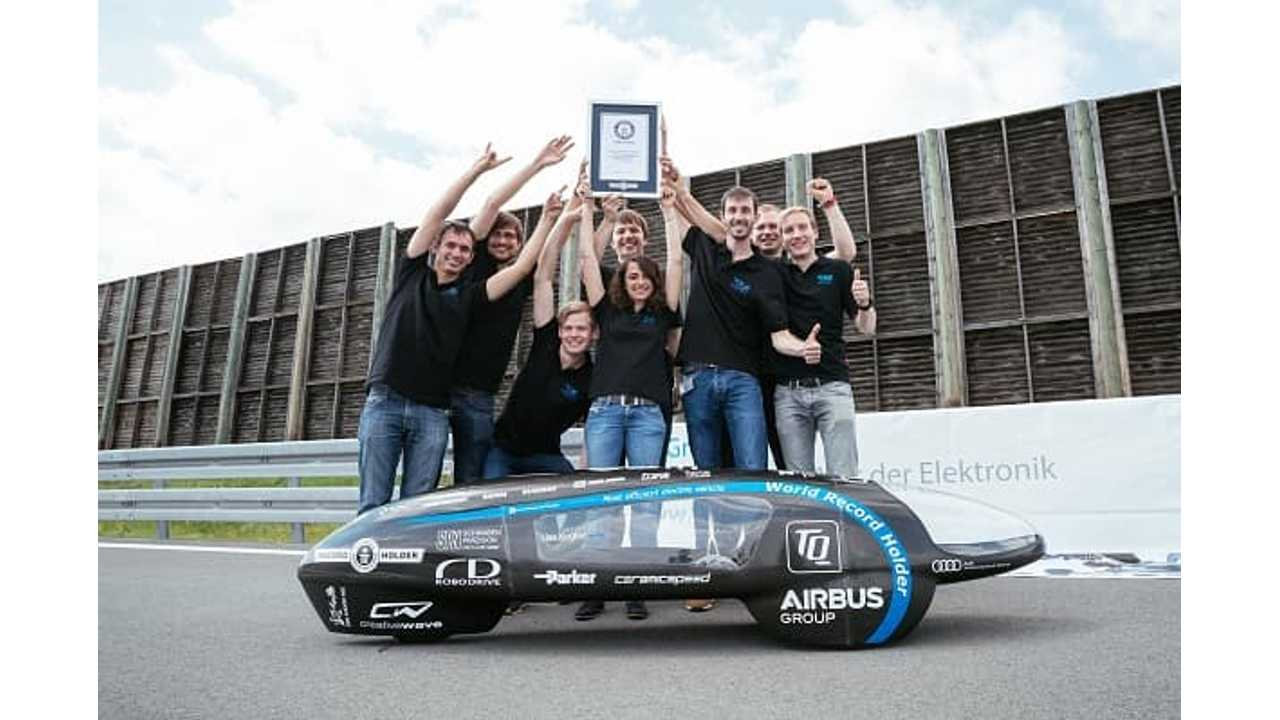 World's Most Efficient Electric Car Gets 26,135 MPGe