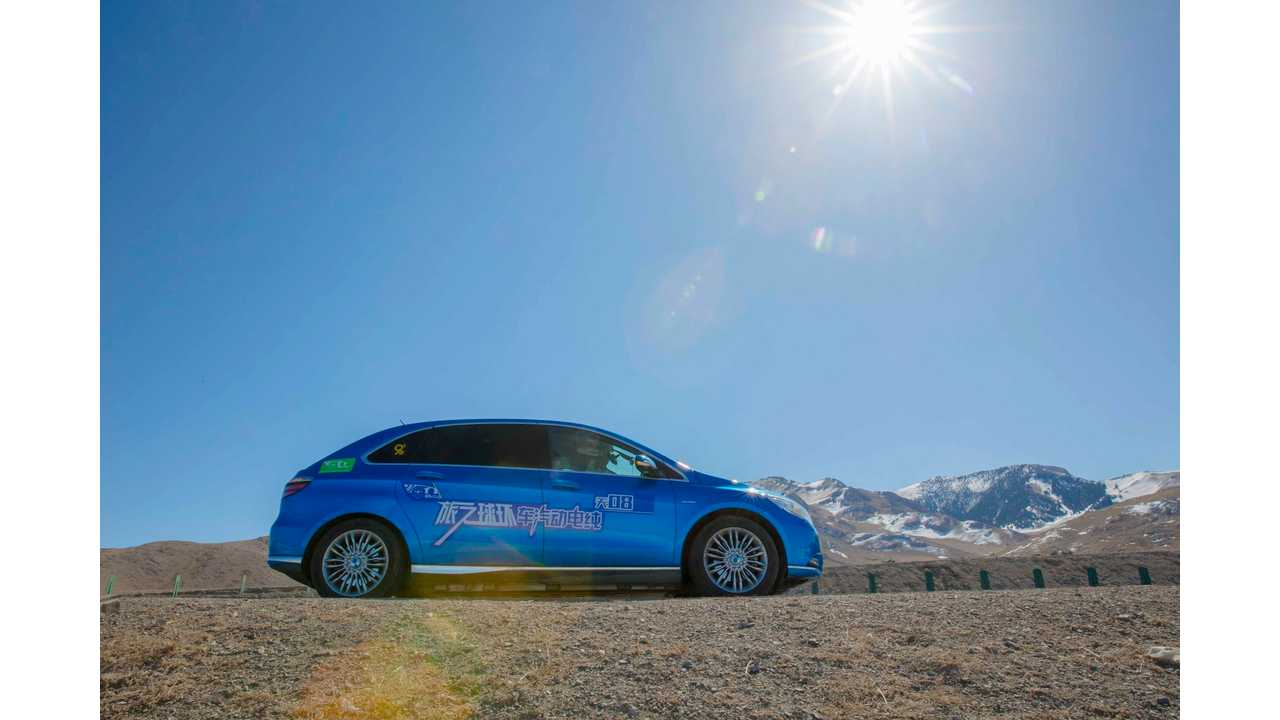 Denza Joins Teslas In 80edays – The Ultimate Electric Vehicle Challenge