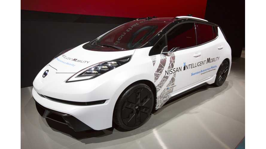 Watch Nissan CEO Carlos Ghosn's Presentation On Autonomy, Next LEAF To Get 200+ Miles