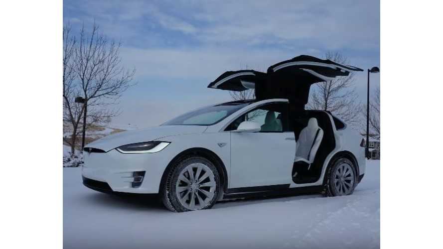 Tesla Model X Winter Driving Tips - Video