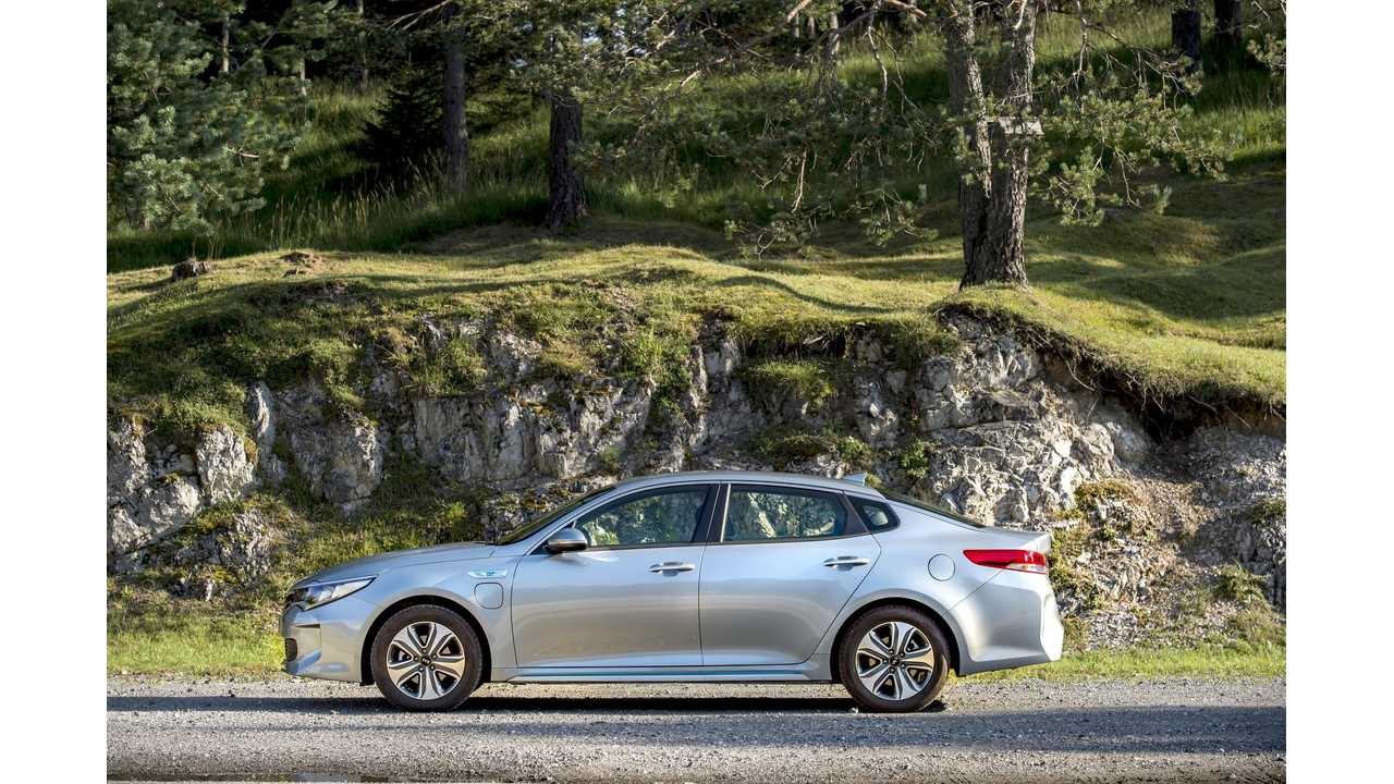 Check Out The New Kia Optima Plug-In Hybrid - Review Video