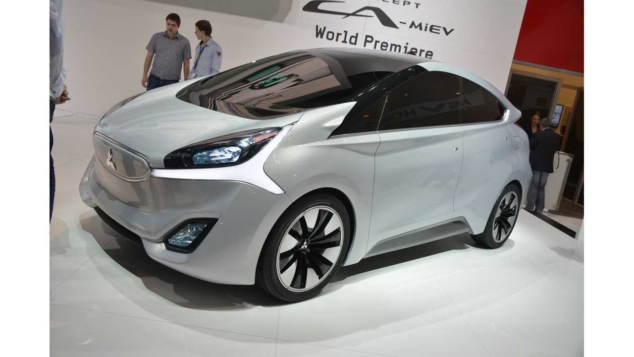 Had A 2nd Generation Ofi-MiEV BeenGreen-Lighted For The US, You Can Bet The CA-MiEV Convept Shown In 2013 Would Have Been The Front Runner