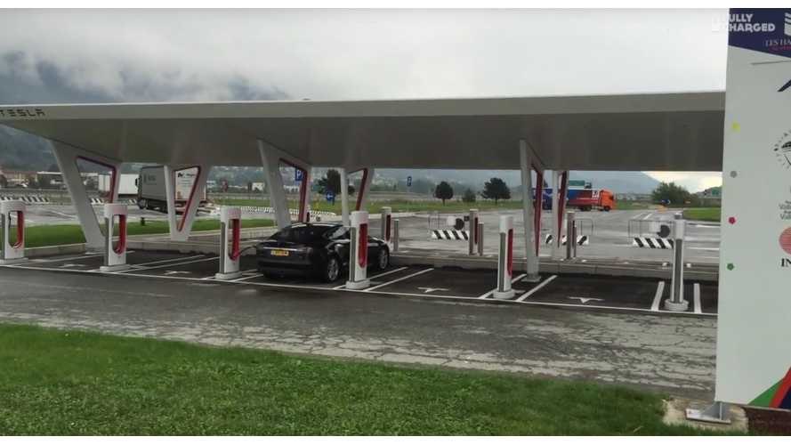 Fully Charged Drives Tesla Model S To Italy - Video