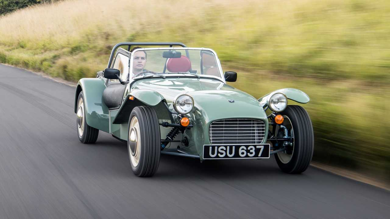 Caterham - Fábrica de Dartford