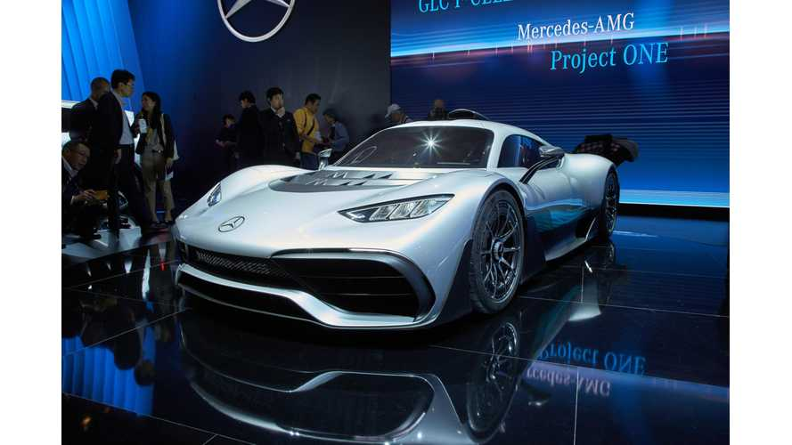 AMG Project One PHEV May Become Fastest Nurburgring Car Ever