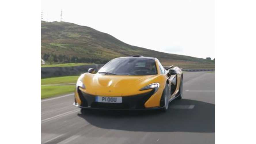 McLaren P1 Celebrates Fifth Birthday - Video