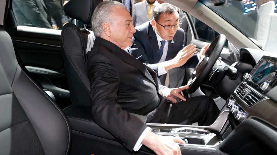 Presidente Michel Temer regulamenta o Rota 2030, novo regime automotivo
