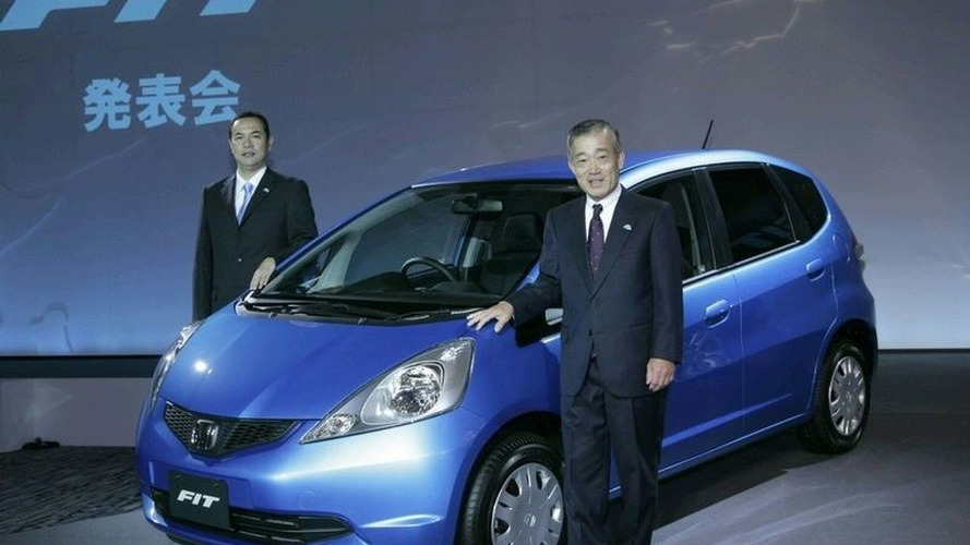 All-new Honda Fit in Japan