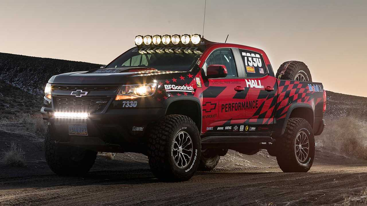 Chevy Colorado ZR2 Gets Race Ready With Chevy's Hardcore ...