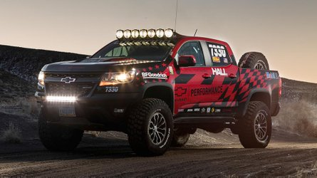 Chevy Colorado ZR2 Gets Race Ready With Chevy's Hardcore Upgrades
