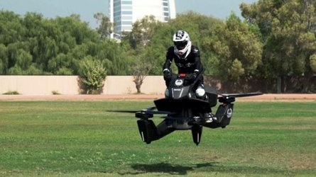 Dubai Police Take Delivery of First Training Hoverbikes