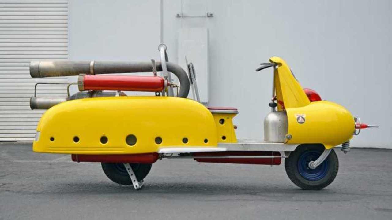 Randy Reiger's Pulse Jet Scooter