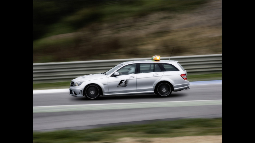 Mercedes SL 63 AMG e C63 AMG SW Safety Car 2009