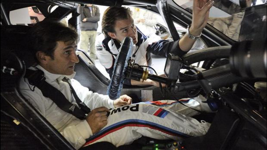 Alex Zanardi, festa BMW per celebrare gli ori olimpici