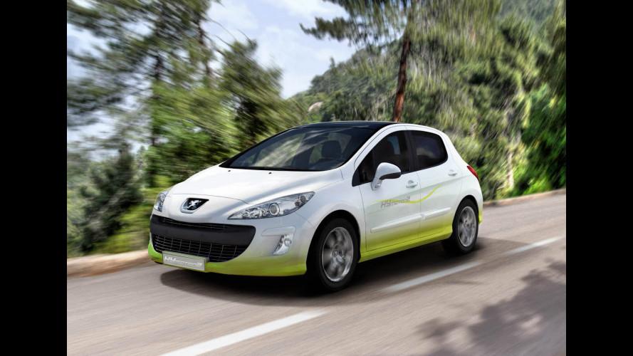 HYmotion, l'ibrido Peugeot