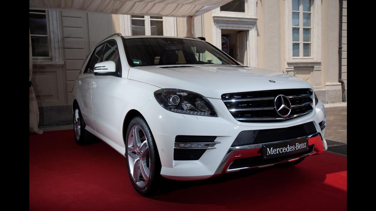 Nuova Mercedes Classe M, l'anteprima italiana