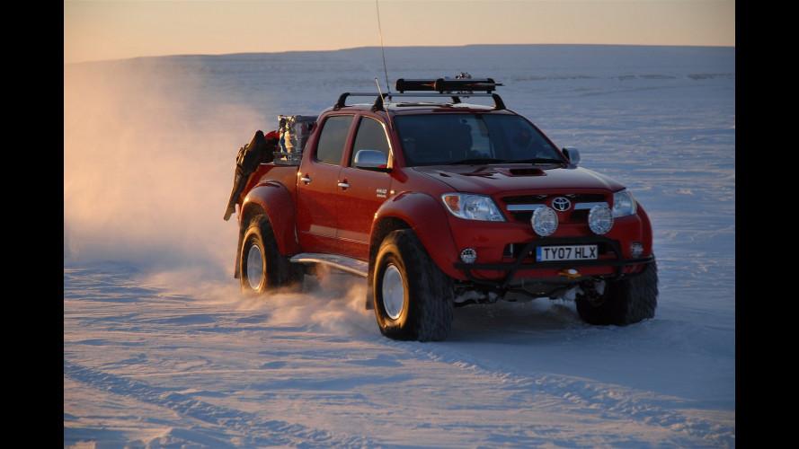 Toyota ha toccato per prima il Polo Nord Magnetico