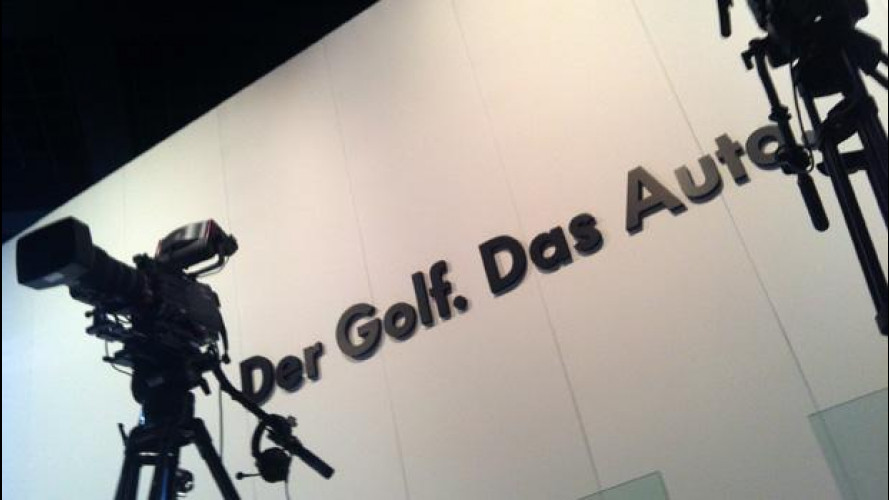 Volkswagen Golf 7: diretta twitter da Berlino