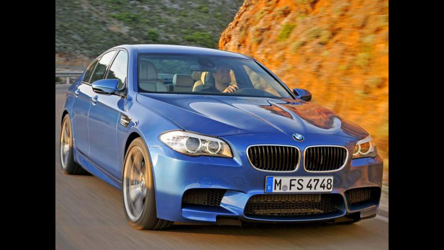 Nuova BMW M5: le prime foto dalla rete