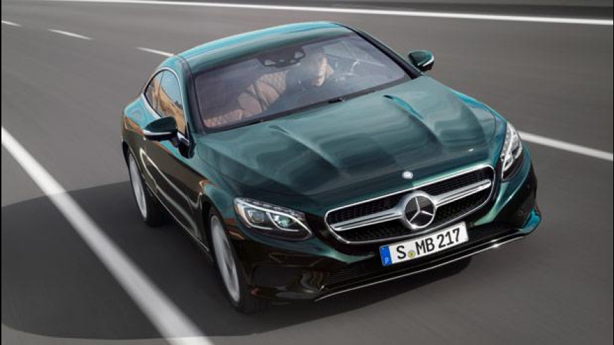 Mercedes S Coupé, fantascienza a quattro ruote