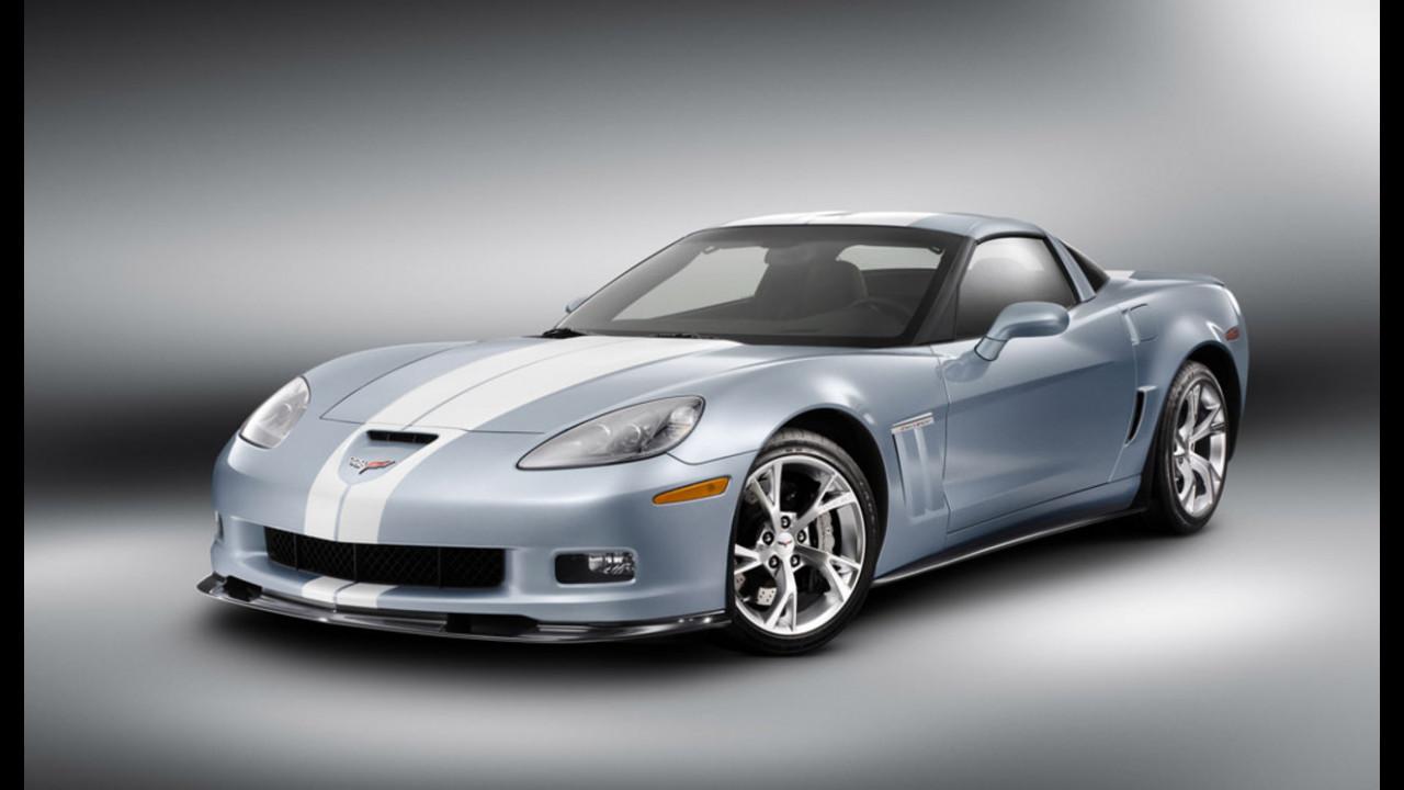 Corvette Carlisle Blue Grand Sport Concept