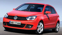 VW Polo V Rendering