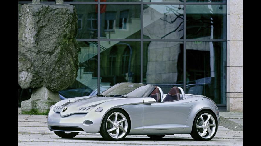 Mercedes SLA: la baby roadster sarà una tutt'avanti
