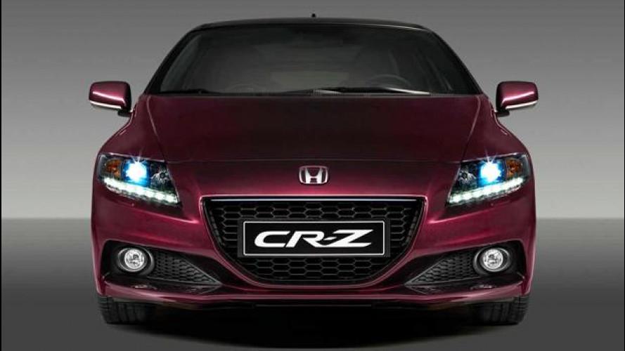 [Copertina] - La Honda CR-Z si aggiorna