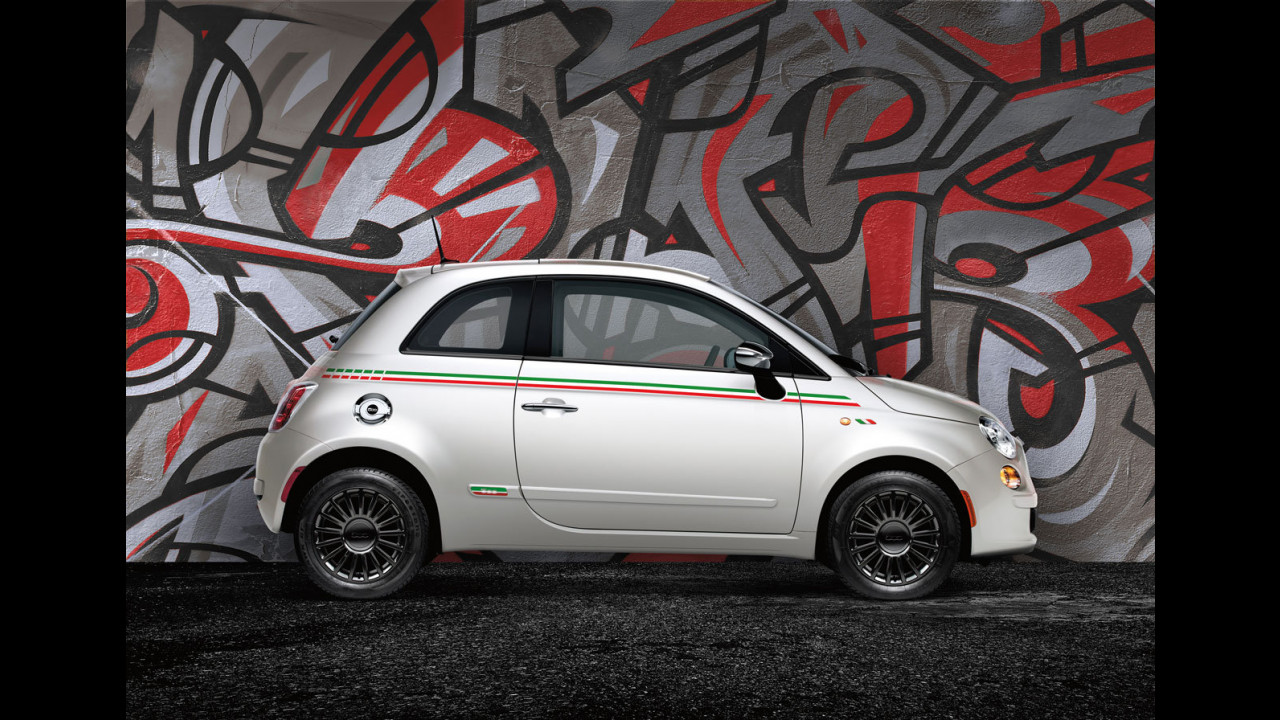Fiat 500 USA. Accessori Mopar