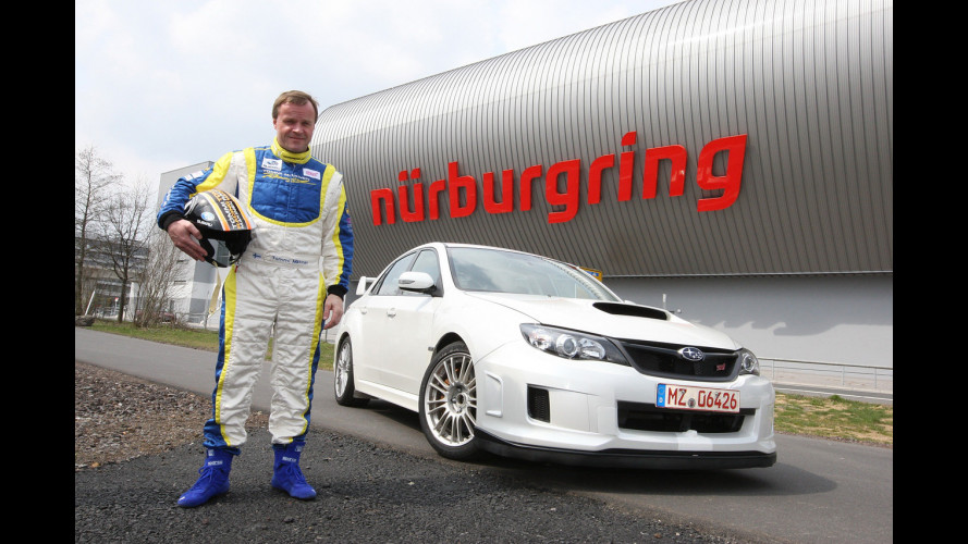 "Subaru Impreza WRX STi berlina: 7' 55"" al Nurburgring"