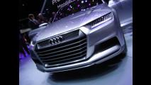 L'Audi crosslane coupè a Parigi